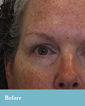 Eyebrow microblading in Lynchburg, VA.