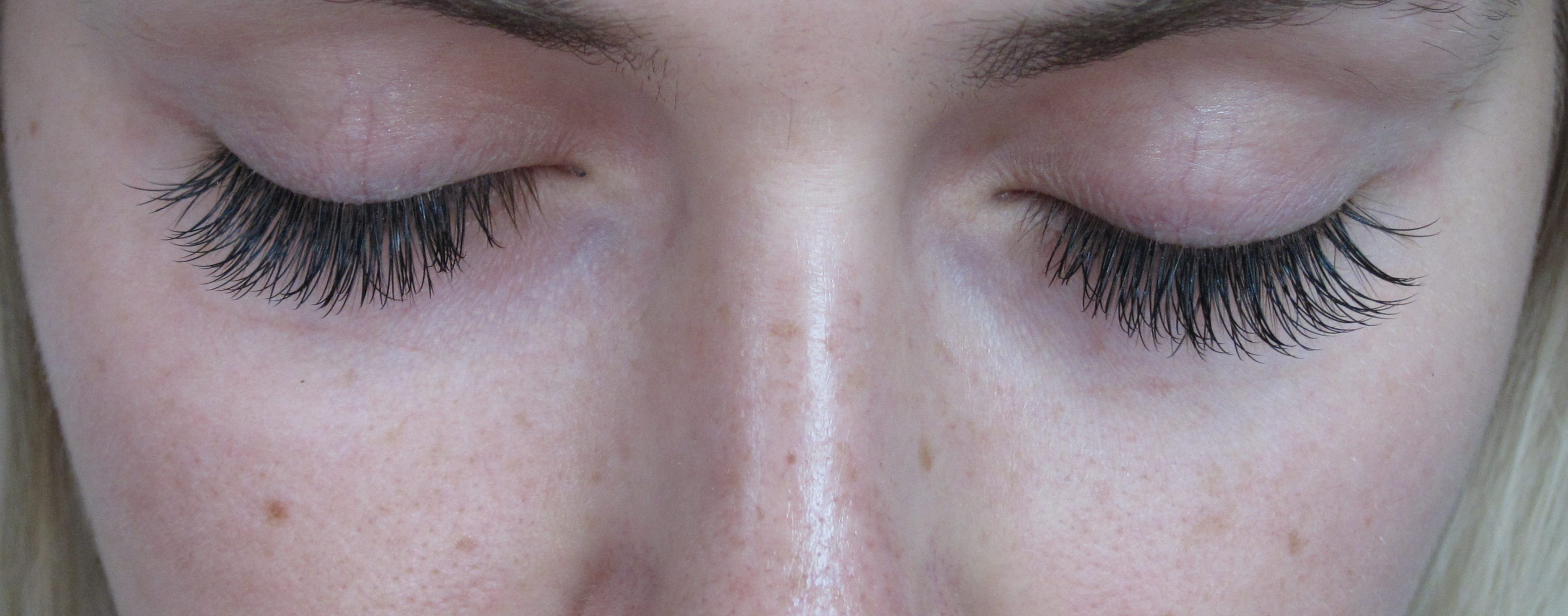 Lash extensions in Lynchburg, VA.