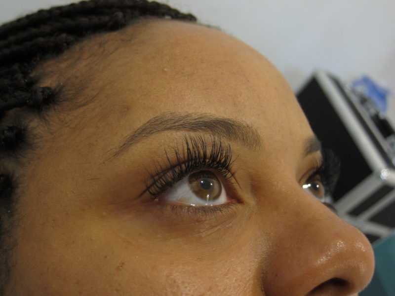 Eyelash extensions in Lynchburg, VA.